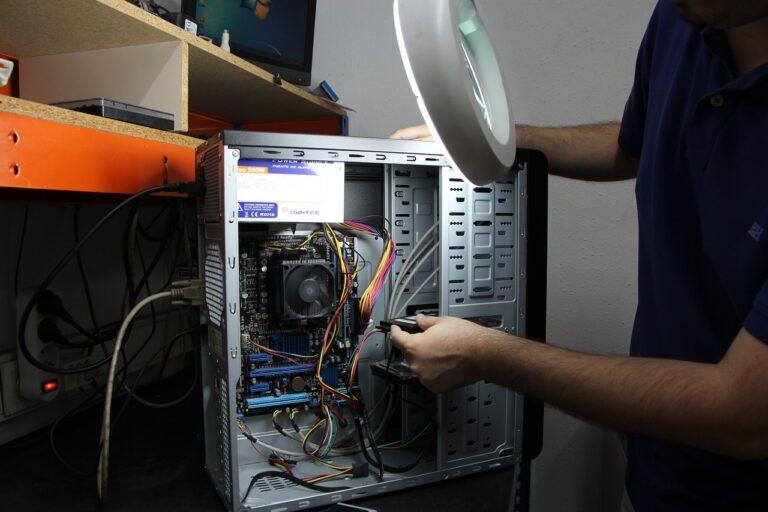 workshop, repair, computers
